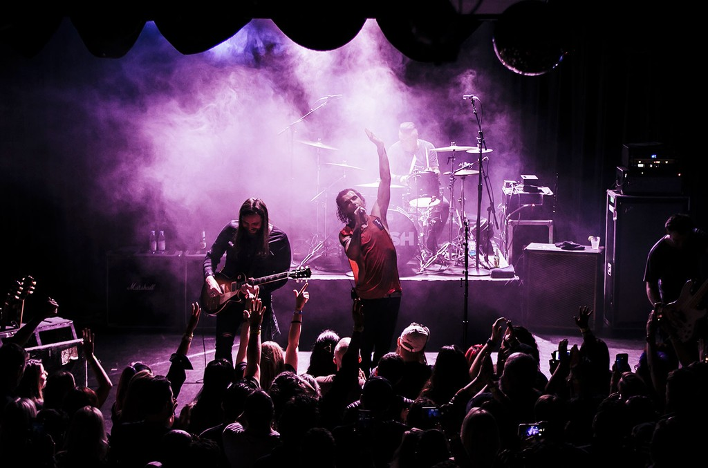 Bush and Live at The Roxy on March 12, 2019.