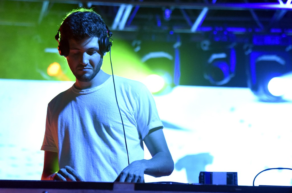 Baauer performs during the Hangout Music Festival kickoff party on May 19, 2016 in Gulf Shores, Ala.
