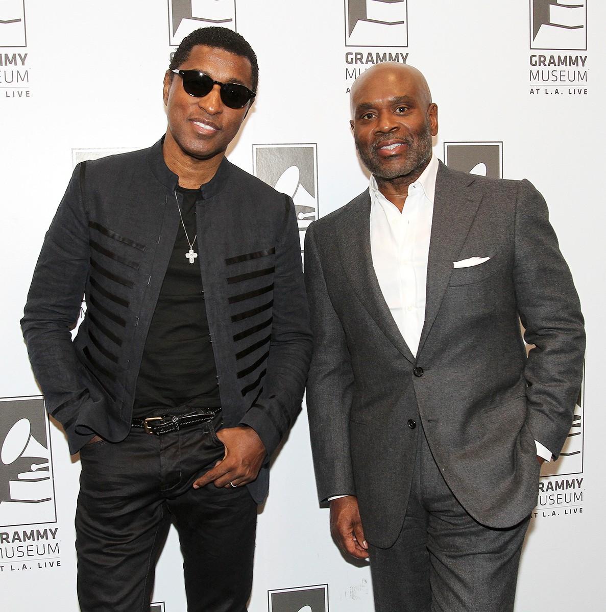 """Kenny """"Babyface"""" Edmonds and L.A.Reid"""