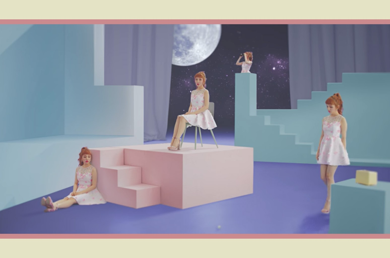 "Baek A Yeon ft. The Barberettes ""Sweet lies"""