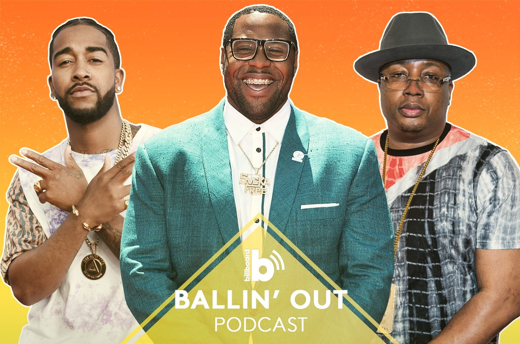 Ballin' Out Podcast featuring: E-40, Omarion & Carolina Panther Trai Turner
