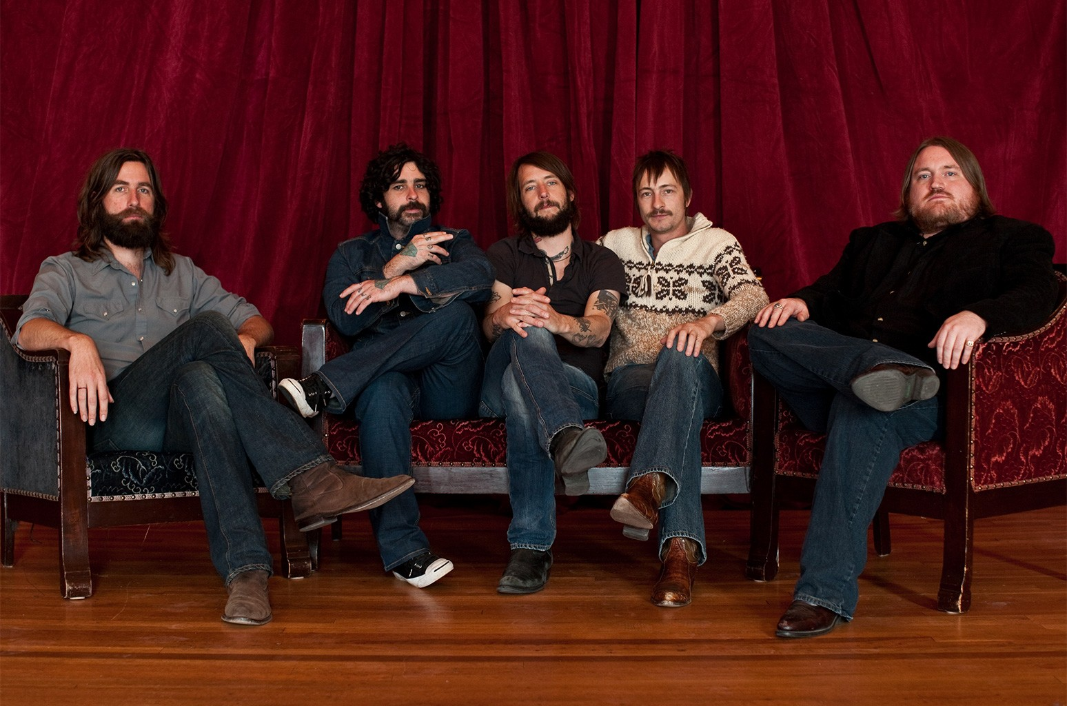 How Band of Horses New Music Friday-Leading No Ones