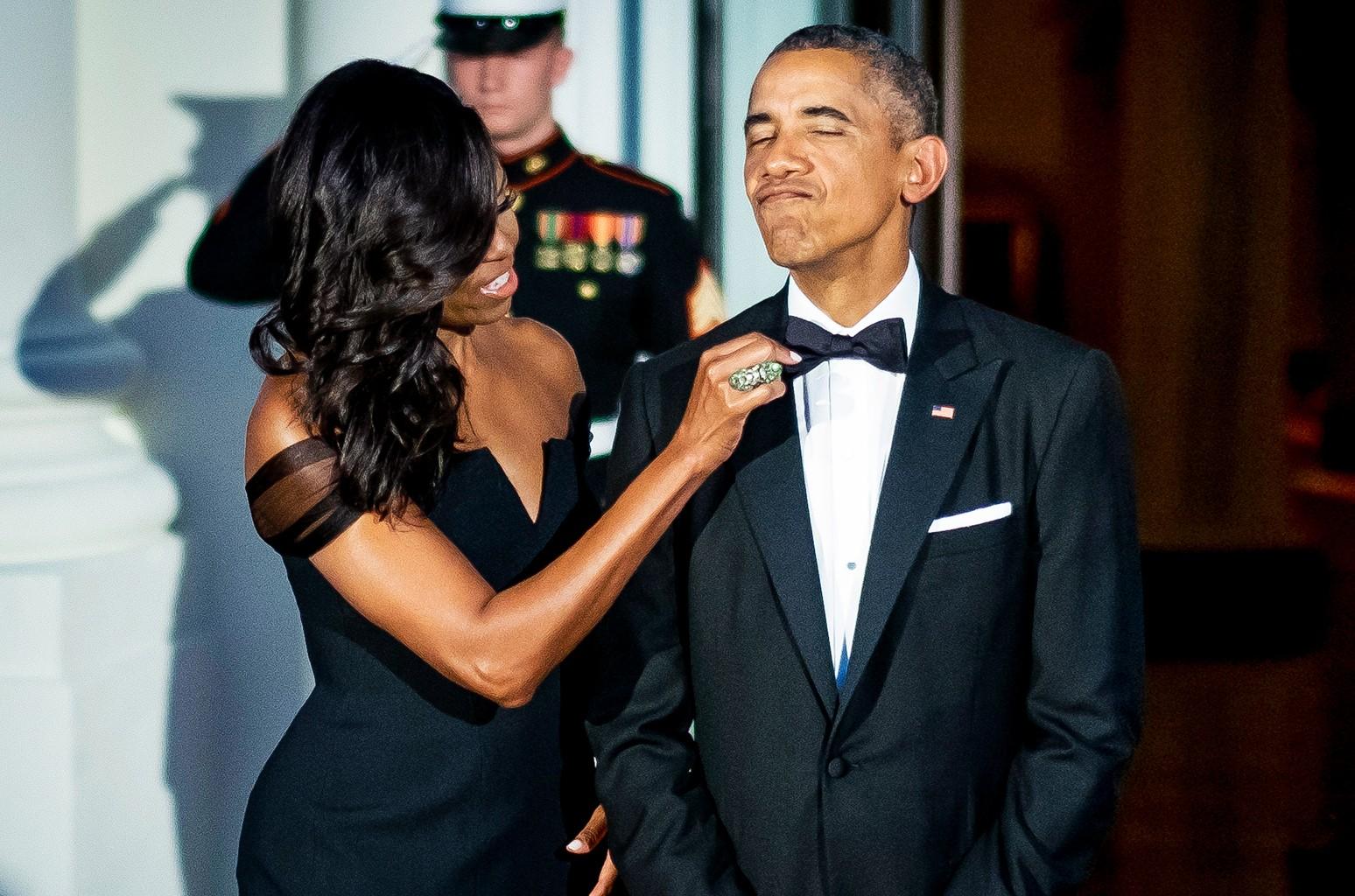 First Lady Michelle Obama & President Barack Obama