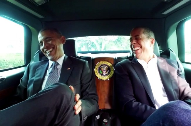 Barack Obama and Seinfeld on 'Comedians in Cars Getting Coffee'