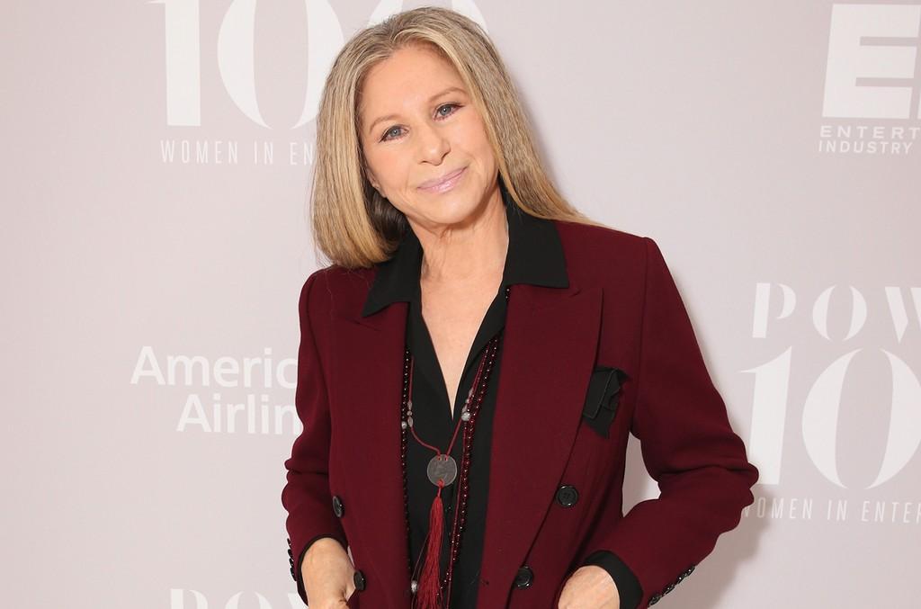 Barbra Streisand photographed in 2015