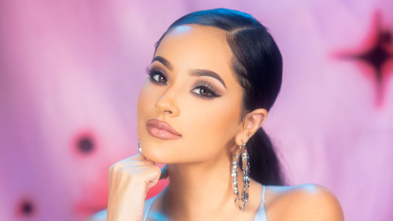 Becky G Celebrates Her Mother's '90s