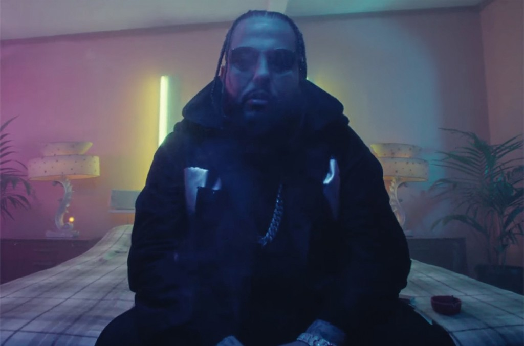 "Belly in the video for ""Frozen Water"""