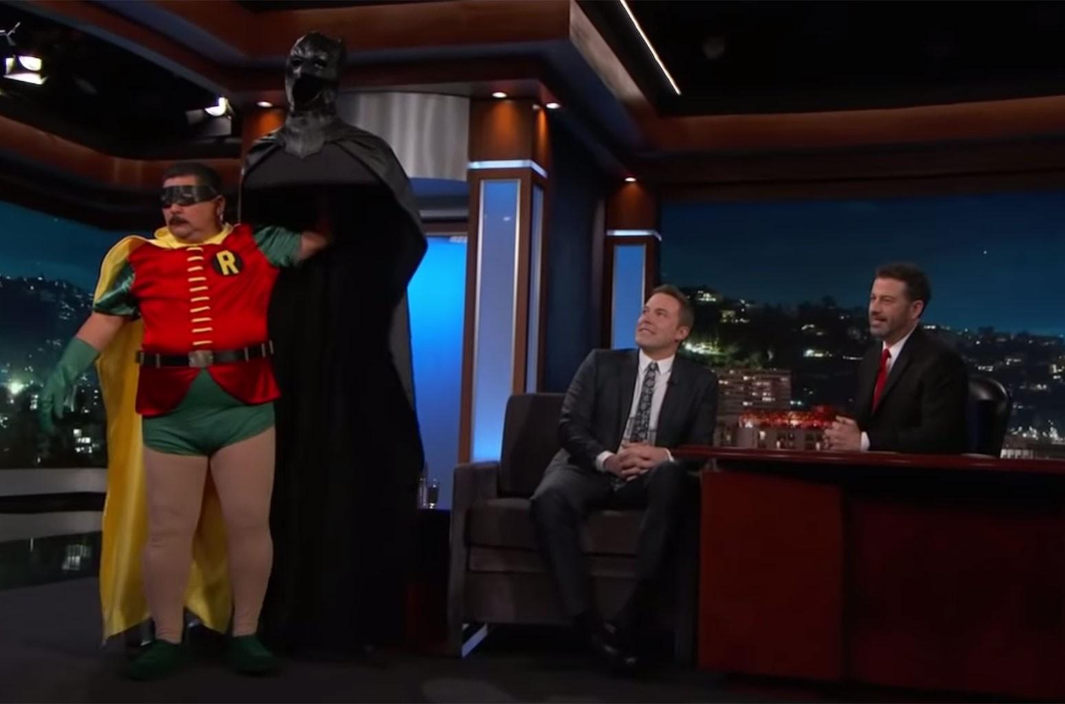 Ben Affleck on Jimmy Kimmel Live!