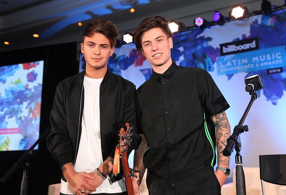 Benji & Fede billboard latin conference 2016