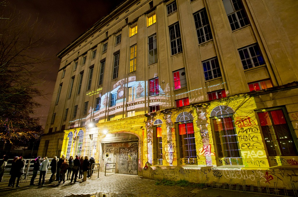 Berghain nightclub in Berlin, Germany.