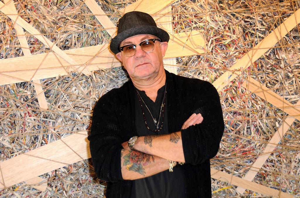 Bernie Taupin at KM Fine Arts LA Studio on Sept. 15, 2016 in Los Angeles.