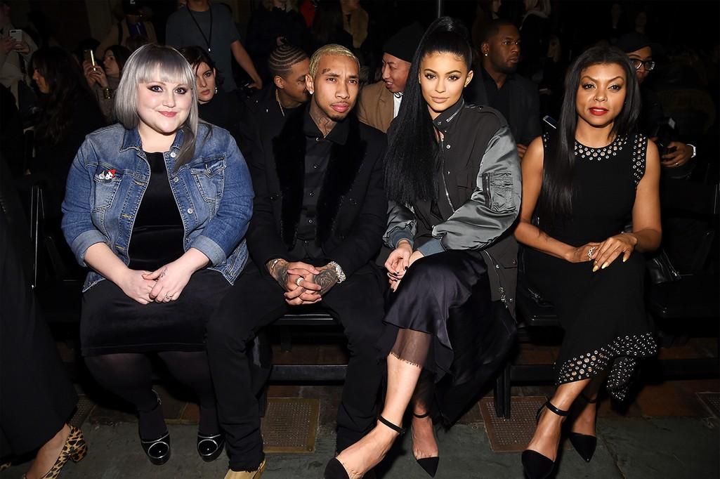 Beth Ditto, Tyga, Kylie Jenner and Taraji P. Henson