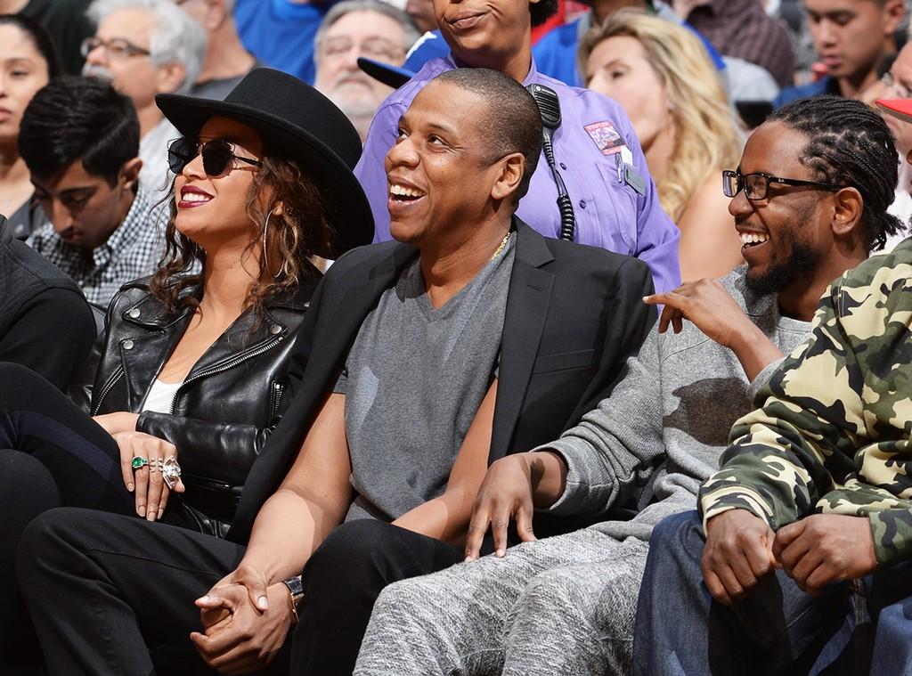 Beyonce, Jay Z, and Kendrick Lamar