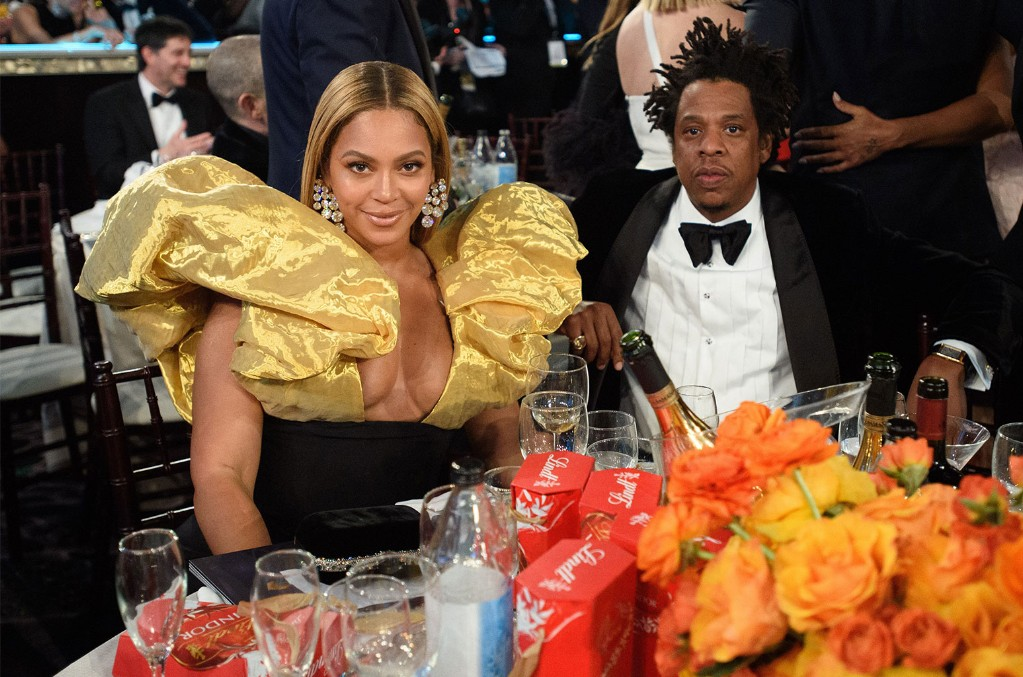 Beyonce Knowles-Carter and Jay-Z