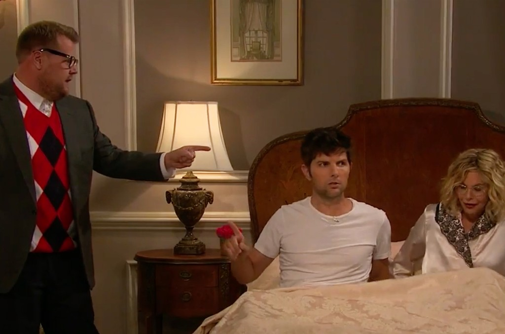 Beyonce Soap Opera w/ Meg Ryan & Adam Scott on The Late Late Show with James Corden.