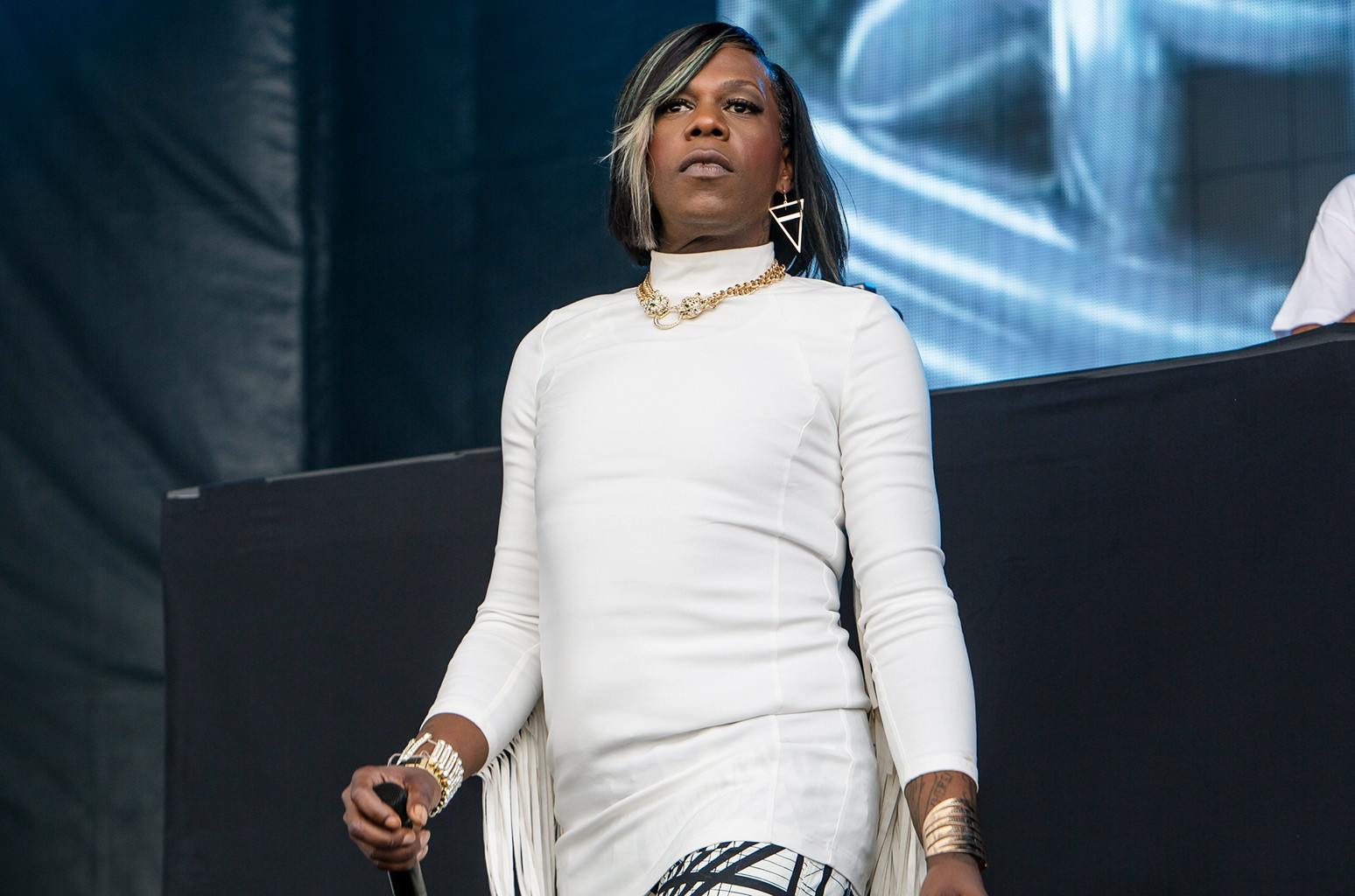 Big Freedia performs during the Buku Music + Arts Festival