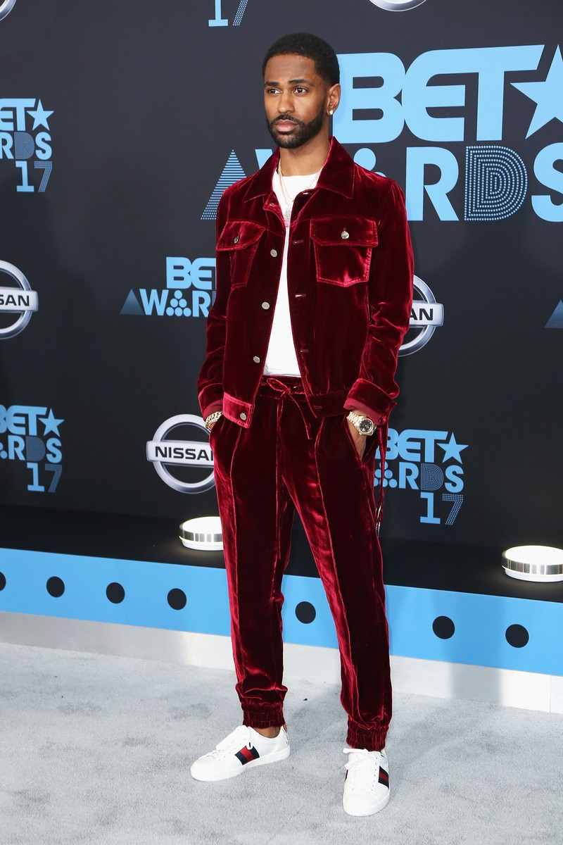 Big Sean at the 2017 BET Awards at Microsoft Square on June 25, 2017 in Los Angeles.