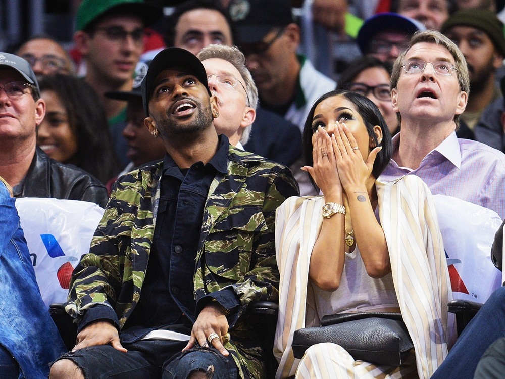 Big-Sean-Jhene-Aiko-Boston-Celtics-and-the-Los-Angeles-Clippers-Game-2016