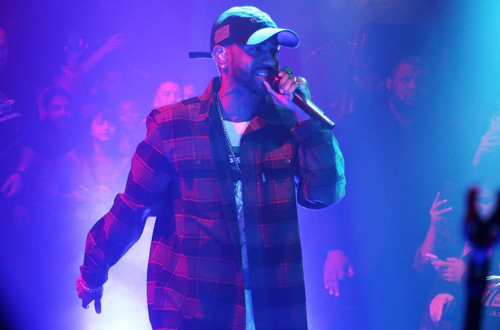 """Big Sean performs during his """"I Decided"""" Secret Show at The Sayers Club on Feb. 10, 2017 in Hollywood, Calif."""