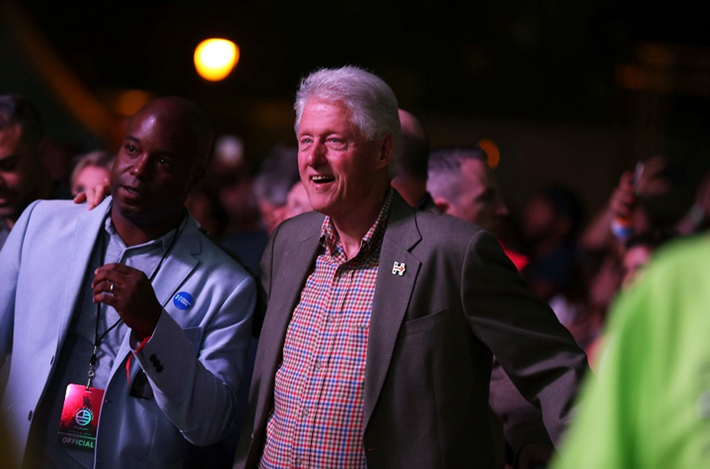 Bill Clinton 2016 Made In America Festival - Day 2 on Sept. 4, 2016 in Philadelphia.