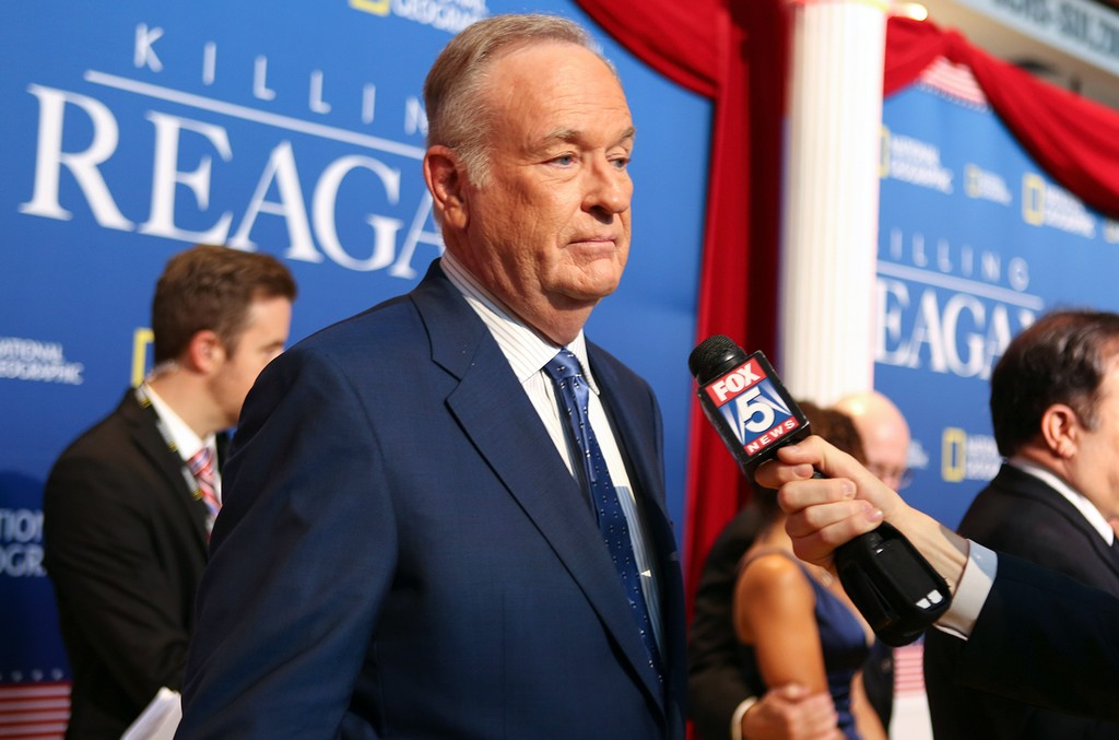 Bill O'Reilly at The Newseum on Oct. 6, 2016 in Washington, DC.