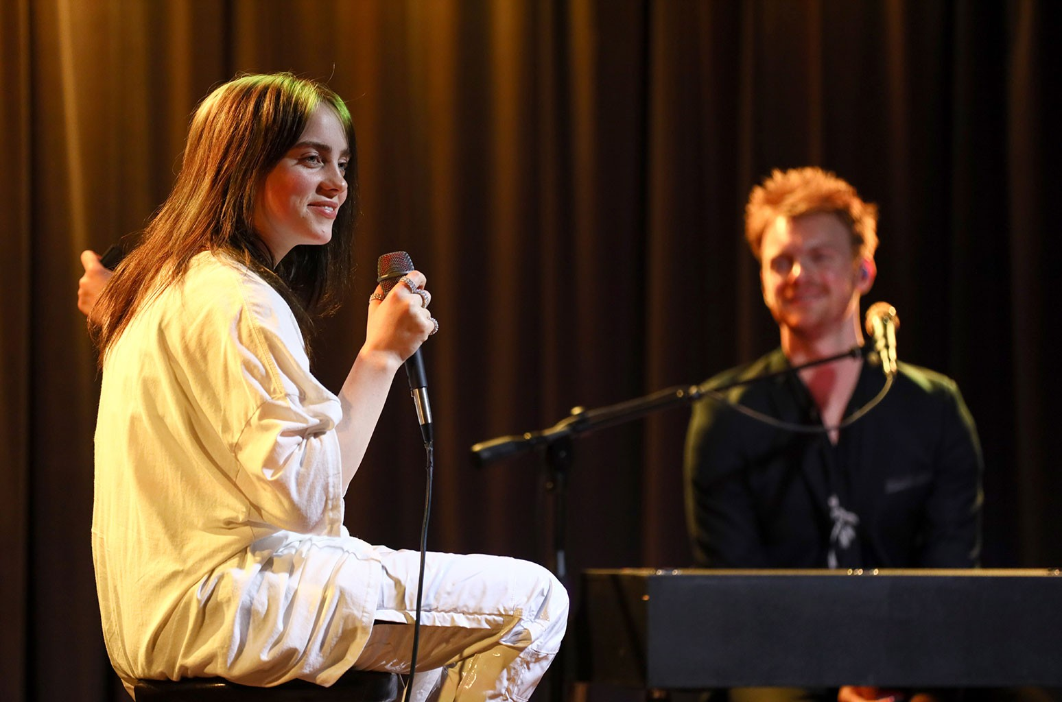 Billie Eilish and FINNEAS