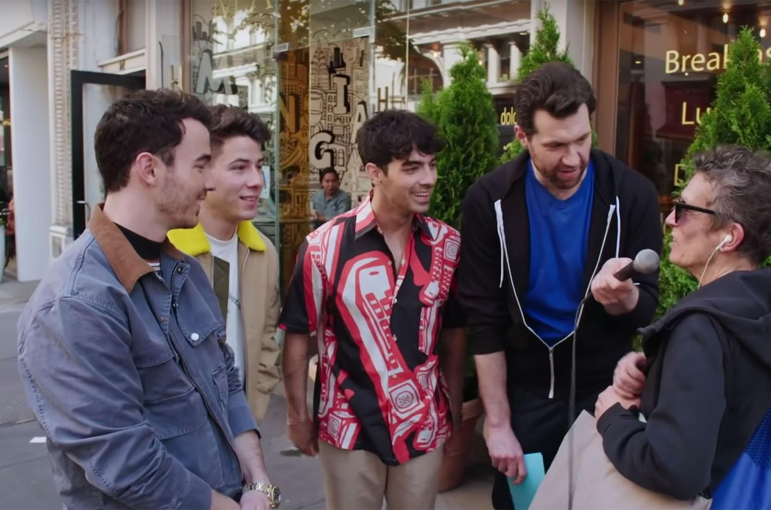 Jonas Brothers Billy on the Street