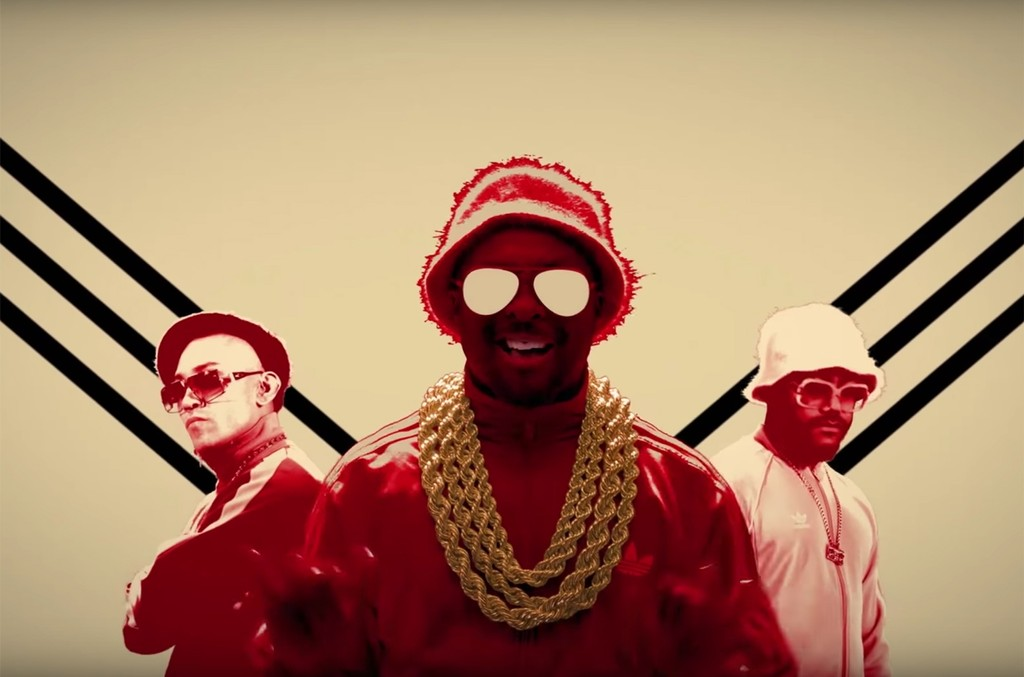 Black Eyed Peas nas BACK 2 HIPHOP