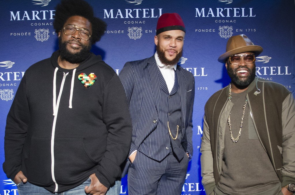Quest Love, Jidenna & Black Thought in Washington, DC.