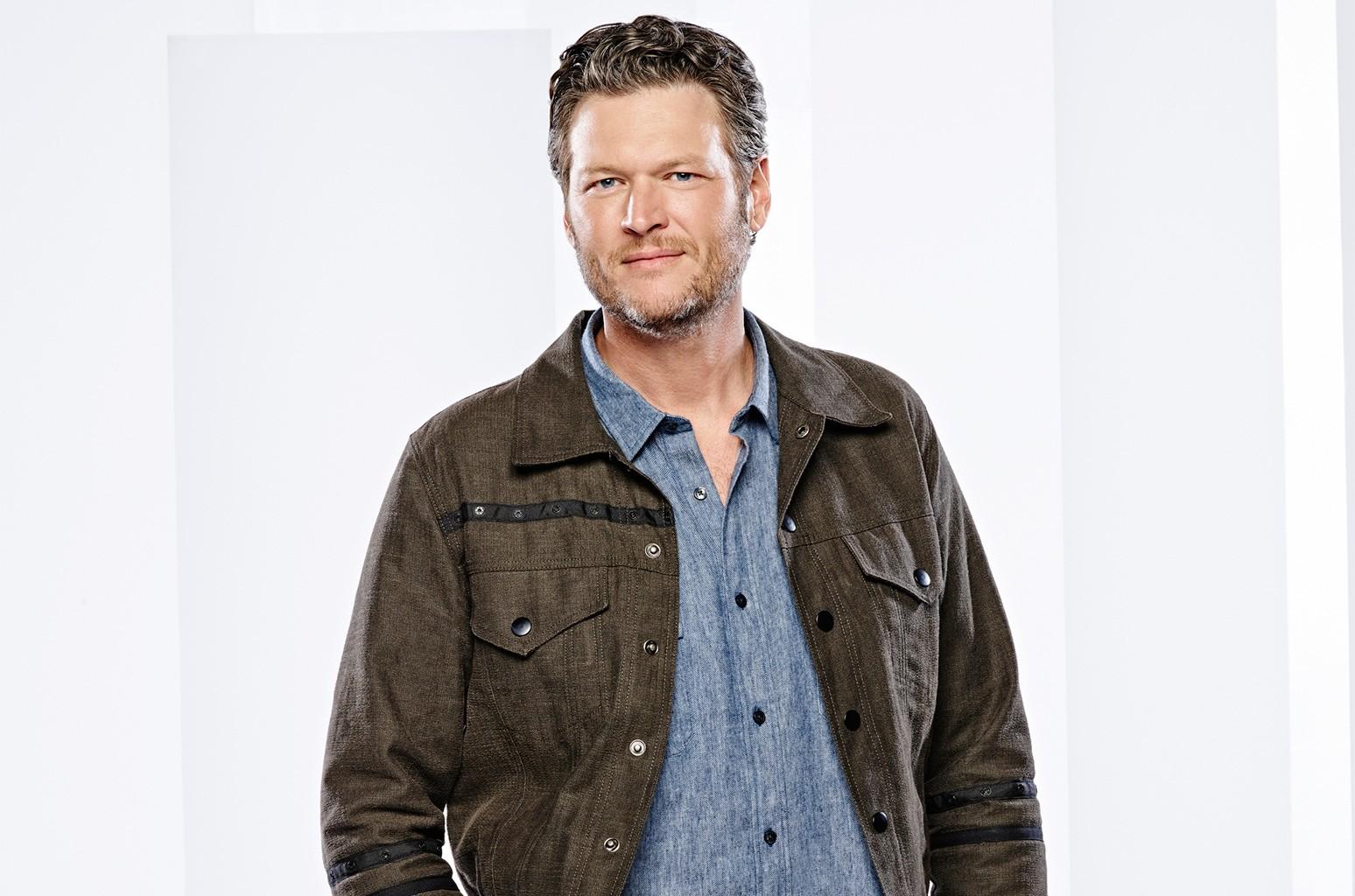 Blake Shelton photographed in 2015.