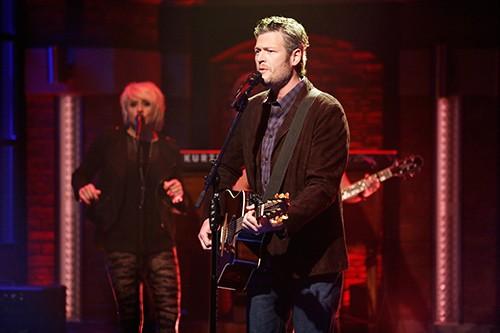 Blake Shelton, Late Night with Seth Meyers