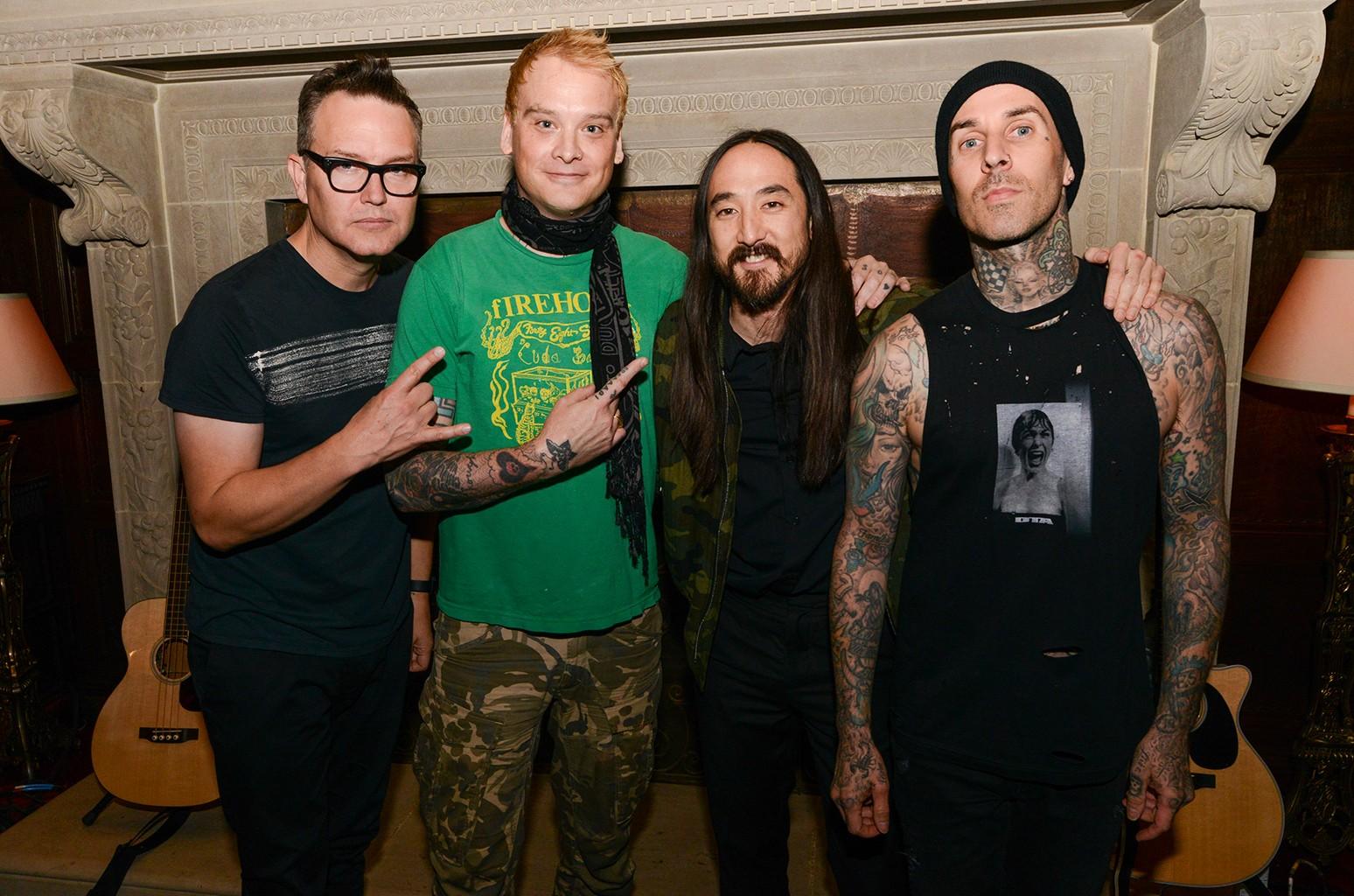 Steve Aoki and Blink 182
