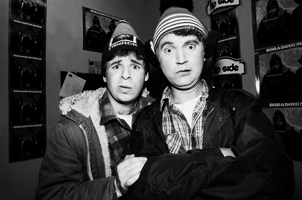 Rick Moranis and Dave Thomas