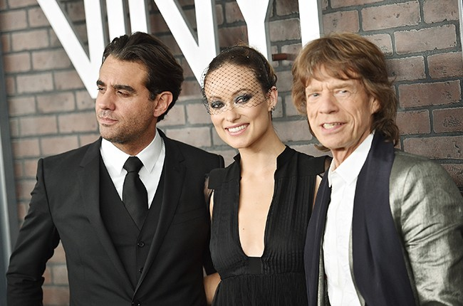 Bobby Cannavale, Olivia Wilde, and Mick Jagger