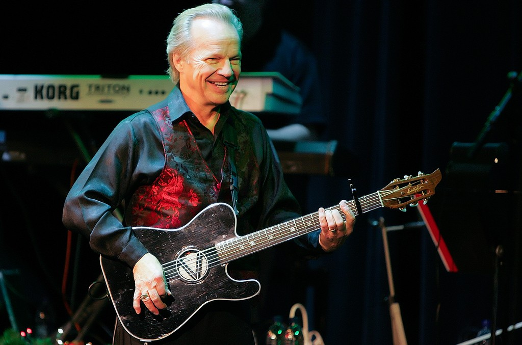 Bobby Vee performs at the Mississippi Moon Bar in Dubuque, Iowa on Dec. 18, 2009.