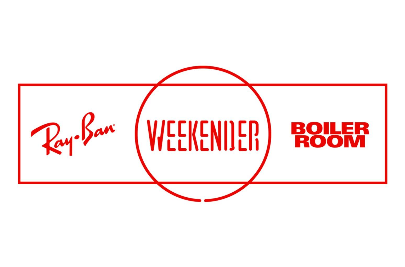 Ray Ban x Weekender x Boiler Room Logo