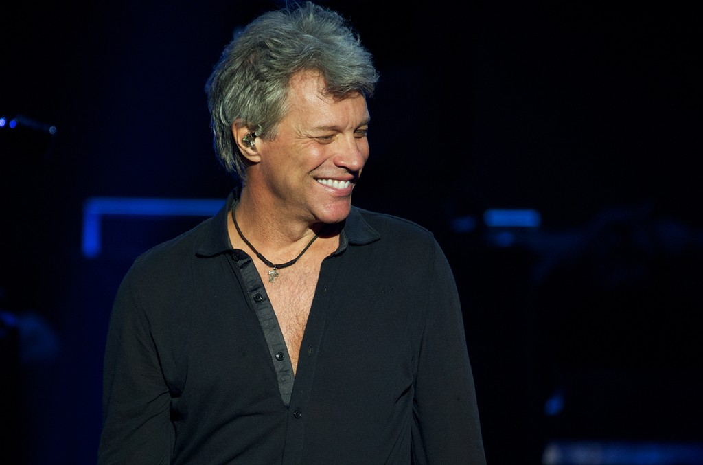 Bon Jovi onstage on Oct. 1, 2016 in New Jersey.