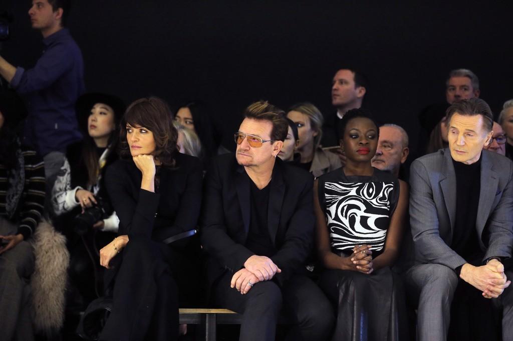 Helena Christensen, Bono, Danai Gurira, and Liam Neeson