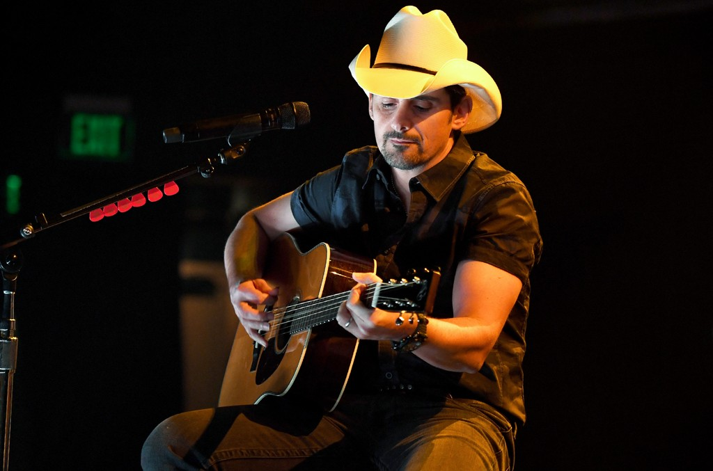 Brad Paisley performs during iHeartCountry Live presented by Citi MasterPass at iHeartRadio Theater on Nov. 11, 2016 in Burbank, Calif.