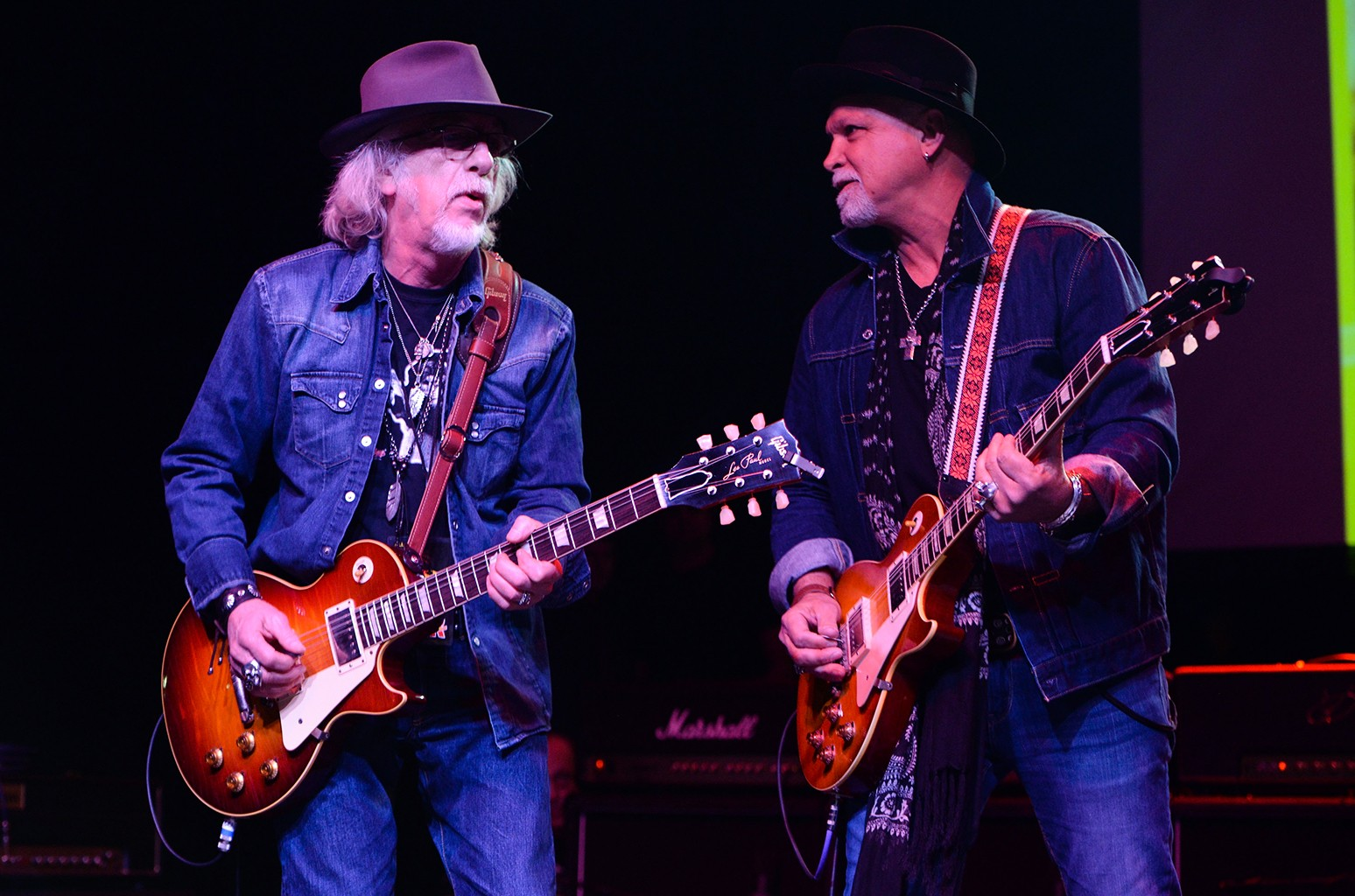 Brad Whitford of Aerosmith and Derek St. Holmes