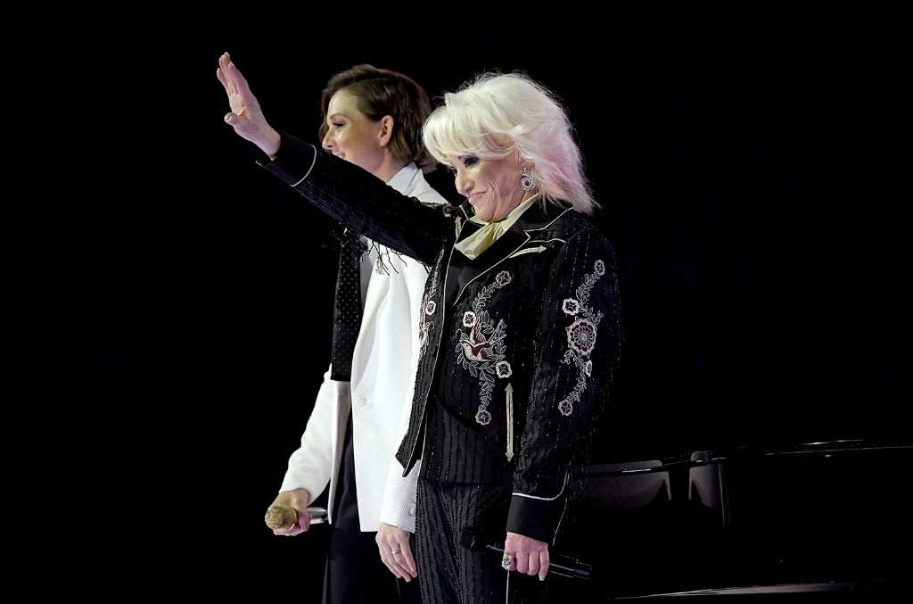 Brandi Carlile and Tanya Tucker