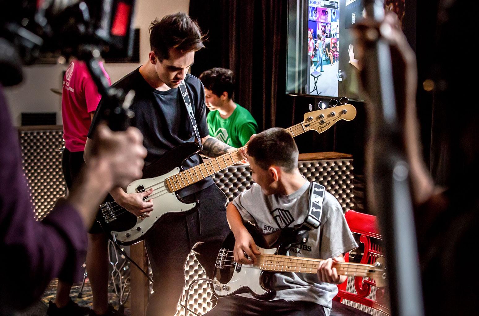 Brendon Urie Fender