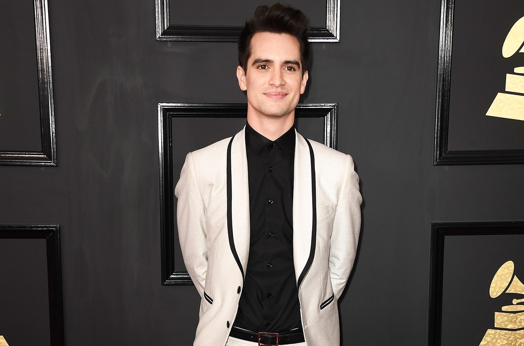 Brendon Urie of Panic! at the Disco attends The 59th Grammy Awards at Staples Center on Feb. 12, 2017 in Los Angeles.