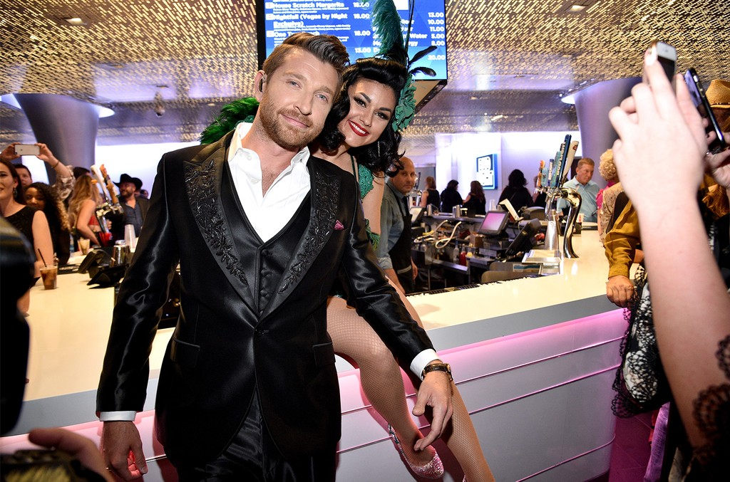 Brett Eldredge attends the 52nd Academy Of Country Music Awards at T-Mobile Arena on April 2, 2017 in Las Vegas.
