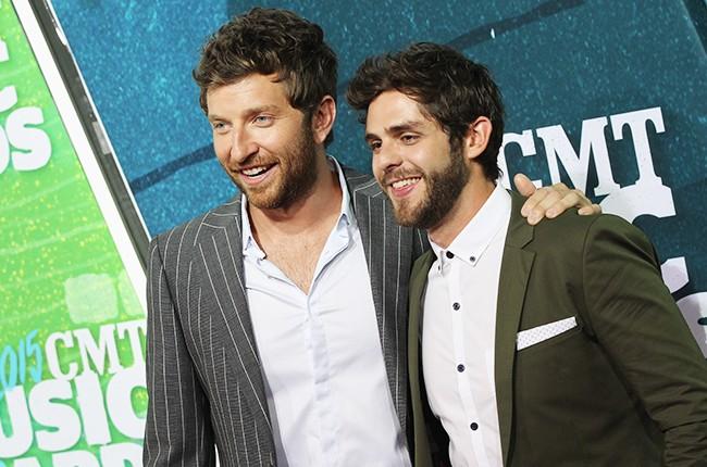 Brett Eldredge and Thomas Rhett