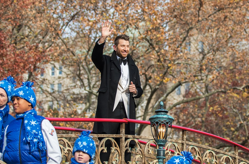 Brett Eldredge attends the 90th Annual Macy's Thanksgiving Day Parade on Nov. 24, 2016 in New York City.