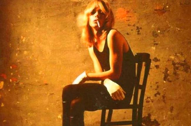 """Cover art for Brett Smiley's """"Breathlessly Brett"""" 1970's album."""