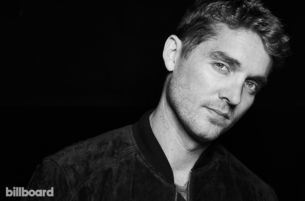 Brett Young photographed on June 9, 2017 at Nissan Stadium in Nashville, Tenn.