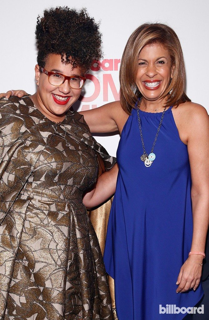 Brittany Howard and Hoda Kotb