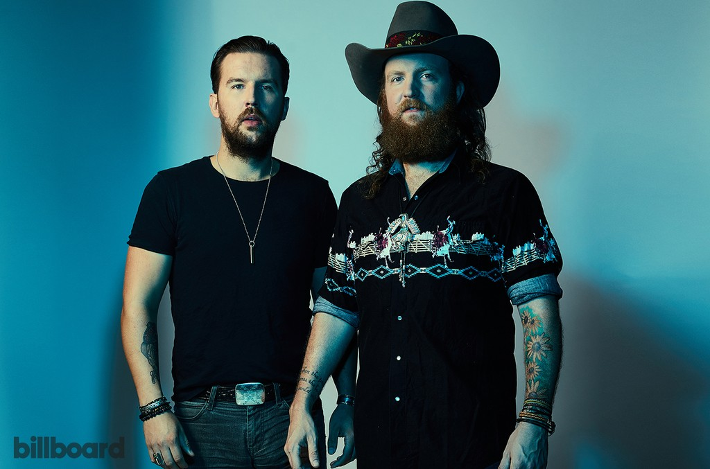 Brothers Osborne photographed on June 11, 2017 at Nissan Stadium in Nashville, Tenn.